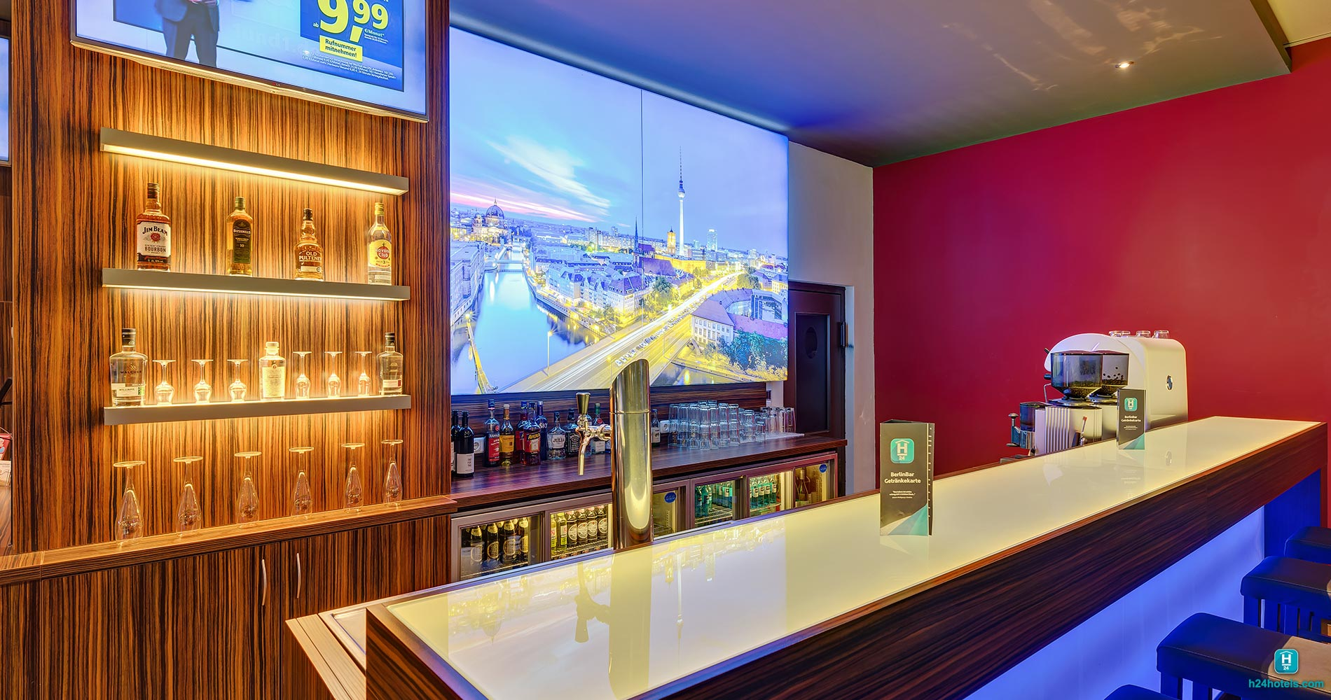 H24, Hoteltow Bar, Lounge, Drinks, Evening, Afterwork, Cocktail, Longdrink