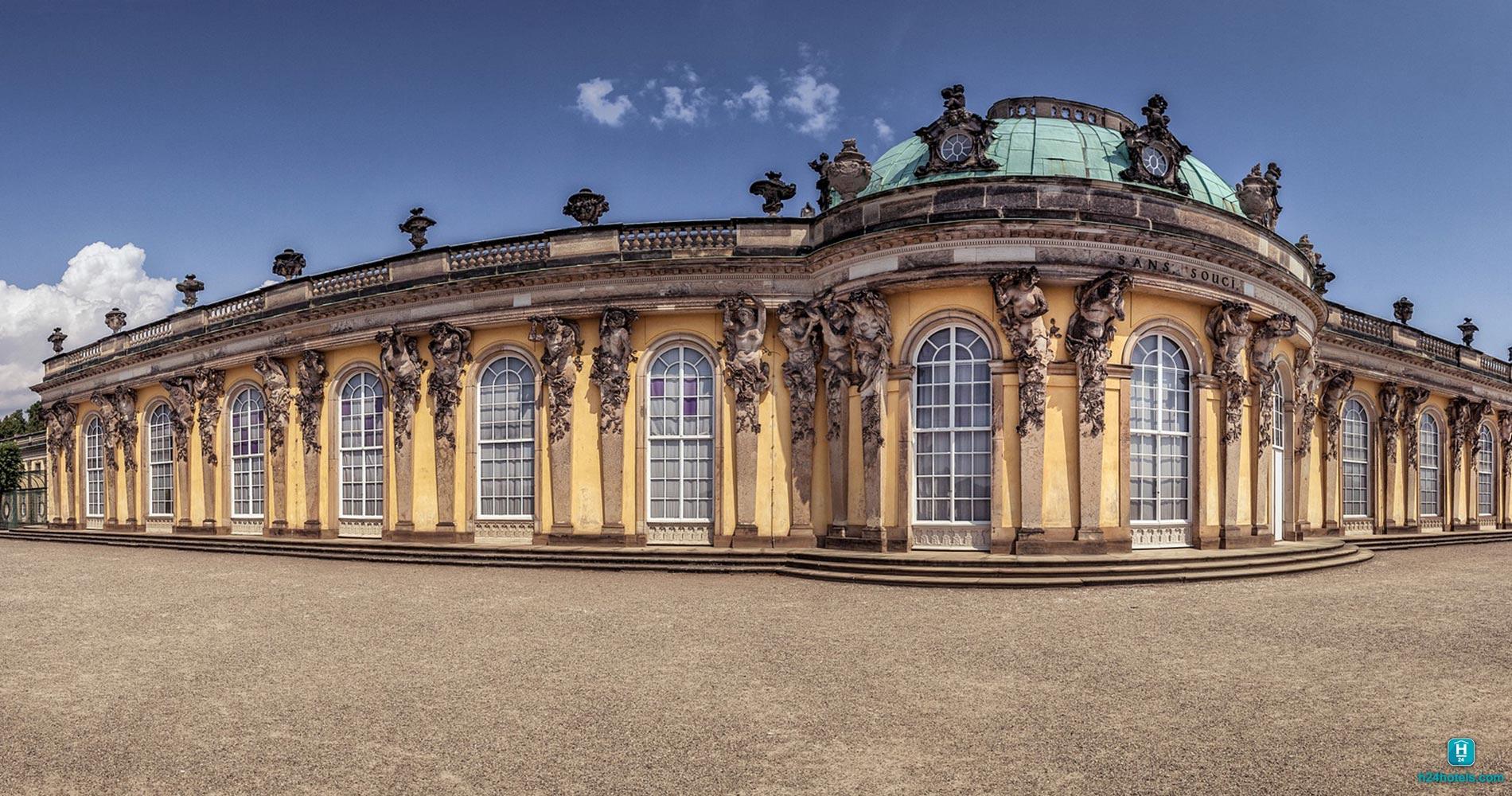 H24, Hoteltow, Schloss Sanssouci, Sehenswürdigkeiten, Gebäude, Bauwerk